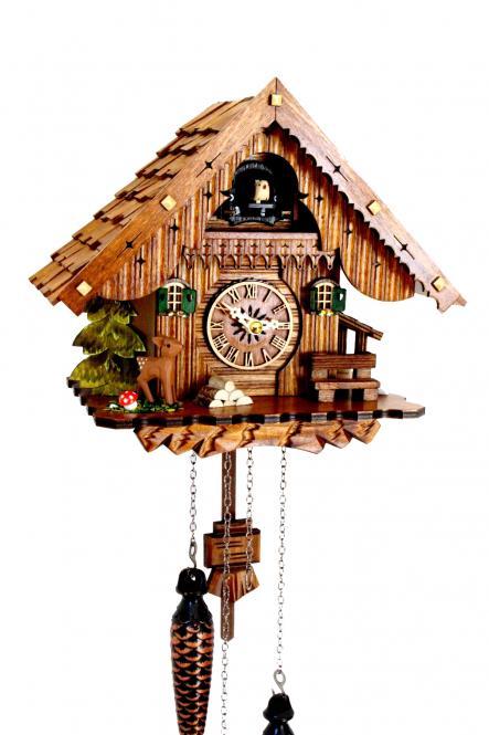 Kuckucksuhr Schwarzwaldhaus