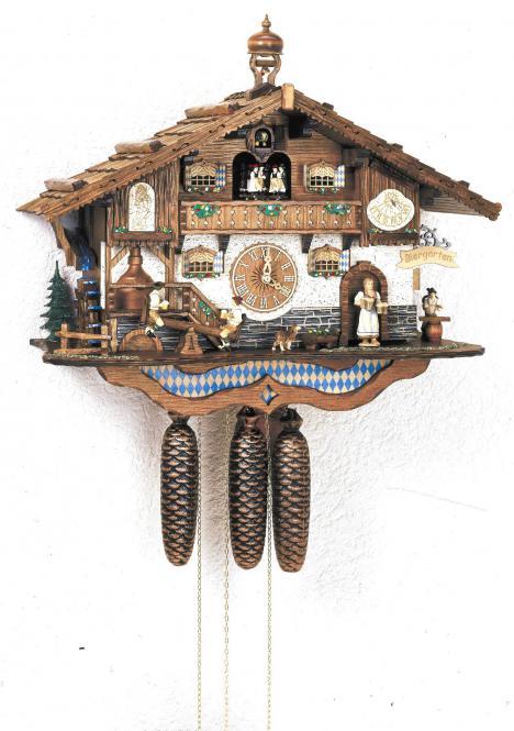 Kuckucksuhr Bayerischer Biergarten
